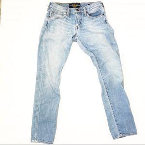 Lucky Brand Sienna Tomboy Crop Light Wash Jeans